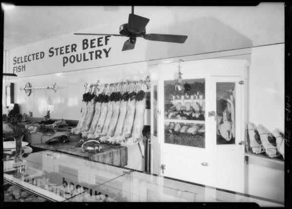 Taft Market, Santa Monica Boulevard & North Western Avenue, Los Angeles, CA, 1925