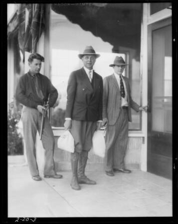 Payroll photos, Southern California, 1928