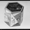 Cakes, cartons, etc., Southern California, 1931