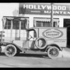 Hollywood Laundry truck, Southern California, 1932