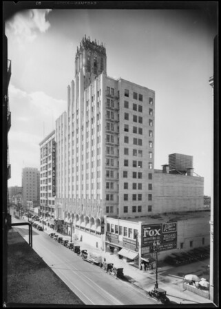 United Artists Theatre, 933 South Broadway, Los Angeles, CA, 1928