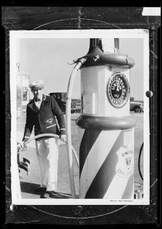 Service station, Southern California, 1932