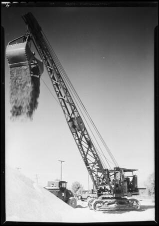 Gravel pit Phoenix, Southern California, 1932