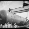 Consolidated steel tank to Akron plant, Southern California, 1934