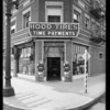 Store exteriors, Hood Tire Company, Southern California, 1927