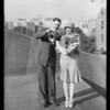 "Sally Eilers & Ralph Mackey of ""The Good-Bye Kiss"", Southern California, 1928"
