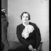 Miss Zimmerman, Southern California, 1934