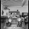Ford truck, E.J. Lloyd, owner, Studebaker, Ellen, owner, Southern California, 1932