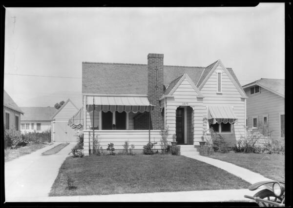 Pasadena home, 1879 East Maple Street, Pasadena, CA, 1925