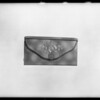 Ladies' purses, Southern California, 1932