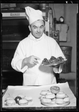 Chef at Sardis, Southern California, 1934
