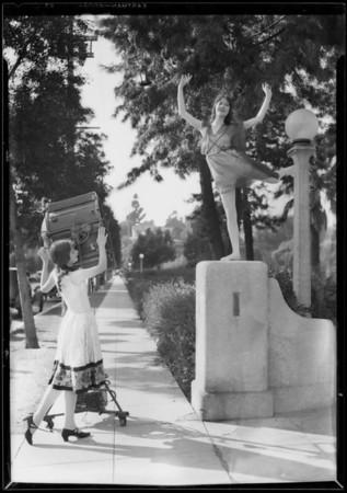 Ben Mar Hills dancers at Echo Park, Los Angeles, CA, 1927