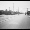 Intersection of North Virgil Avenue and Lockwood Avenue, Los Angeles, CA, 1933