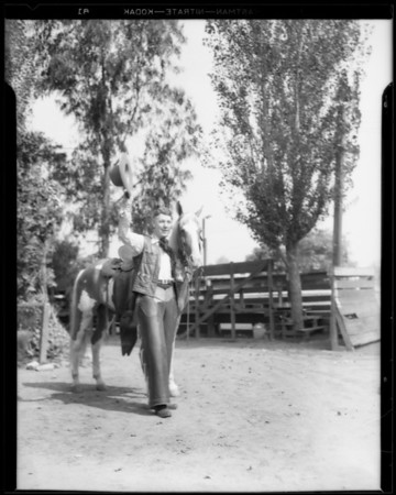 "Cowboy radio groups, ""Pinto Pete"" & His Ranch Boys, Southern California, 1933"