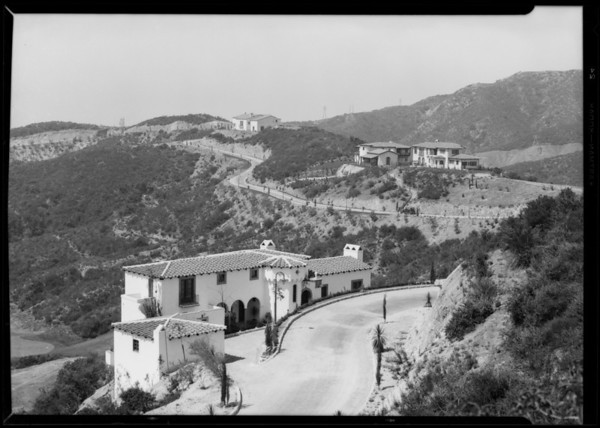 Annandale Estates, Southern California, 1928