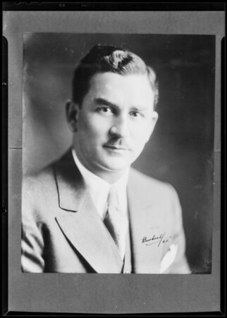 R.J. Collin, Southern California, 1931
