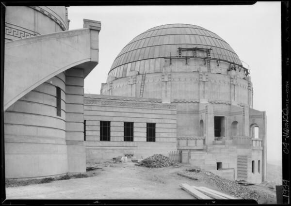 Planetarium, Los Angeles, CA, 1934