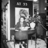 Author, Eva Le Gallienne, Southern California, 1934