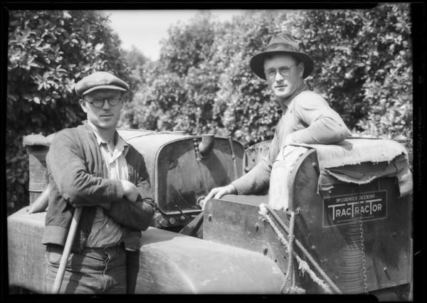 Oldham Brothers, San Gabriel, CA, 1934