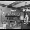 Interior of home, 551 South Oxford Avenue, Los Angeles, CA, 1925