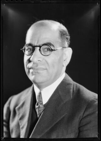Mr. Arsen H. Avakian, Southern California, 1932