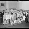 Campfire girls at KFI, Southern California, 1934