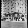 Citizens Trust and Savings Bank branch at intersection of East 6th Street and South San Pedro Street, Los Angeles, CA, 1927