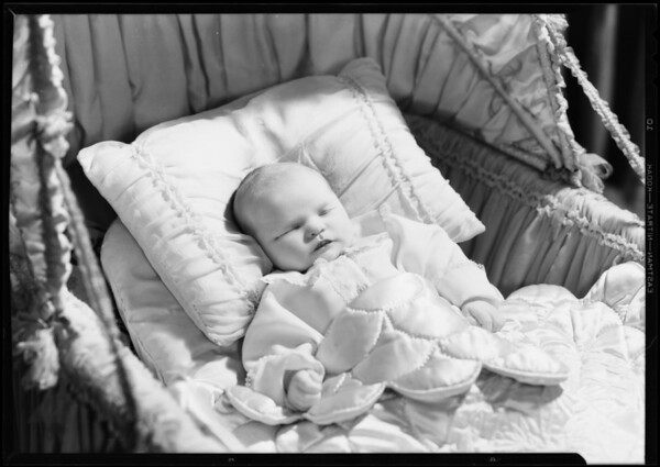 Baby, Miss Burr, Southern California, 1933