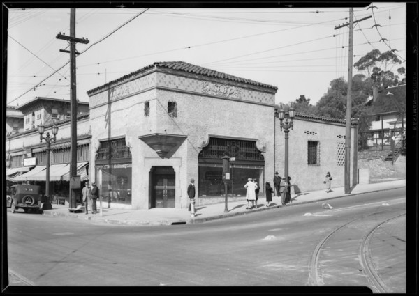 First National Bank, new branch, West 6th Street & South Alvarado Street, Los Angeles, CA, 1927
