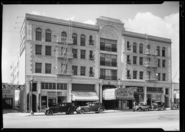 St. George Apartments, 1245 Vine Street, Los Angeles, CA, 1928