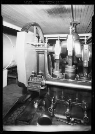 Machinery, Southern California, 1934