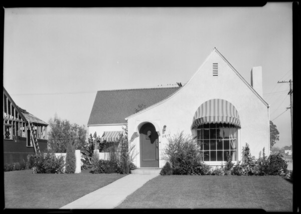 Home at 8817 Cashio Street, Los Angeles, CA, 1925