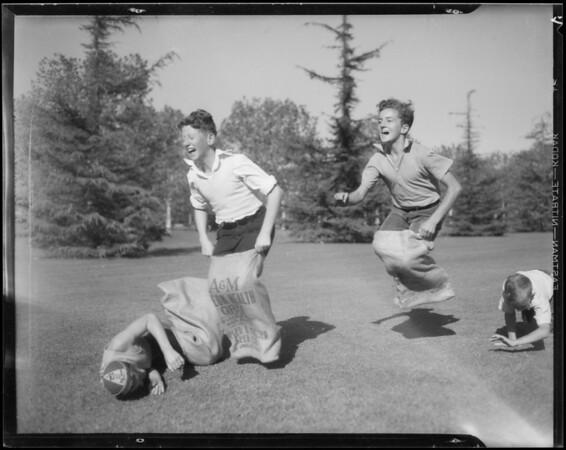 Picnic publicity, Elks Club, Southern California, 1934