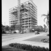 Building under construction at West 8th Street and Beacon Avenue, Los Angeles, CA, 1926