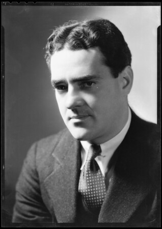 Portrait of Mr. Fielding, Southern California, 1932