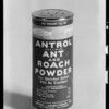 Can of Antrol powder, Southern California, 1932
