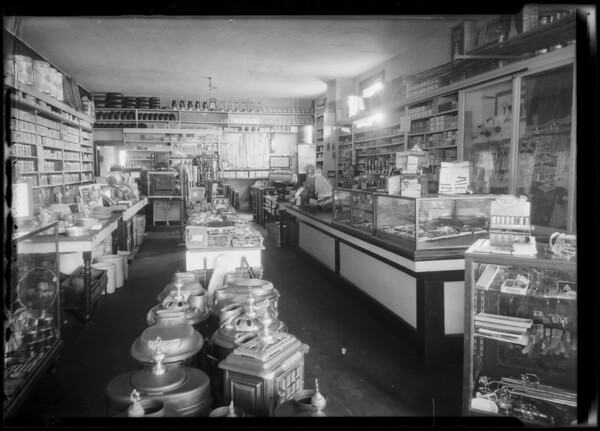 Burrows and Johnsen Hardware Store, Los Angeles, CA, 1924