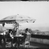 Cafe and scenic, Miramar Estates, Santa Monica, CA, 1927
