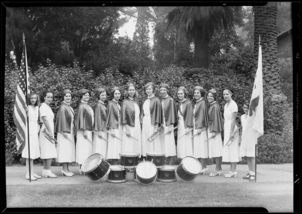 Group at Echo Park, Los Angeles, CA, 1933