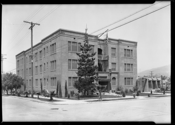 Barbara Worth Apartments - Glendale, CA, 1926