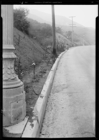 Section, Cahuenga Pass, Los Angeles, CA, 1933