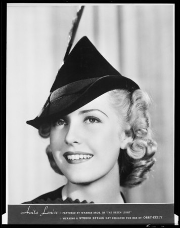 Studio Style hats, Mayers Company, Southern California, 1936