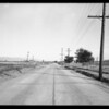Intersection of Riverside Drive and Woodman Avenue near Van Nuys, Los Angeles, CA, 1932