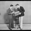 Radio and speaker, Southern California, 1926
