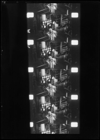 Enlargements from line film of Arizona trip, Southern California, 1932