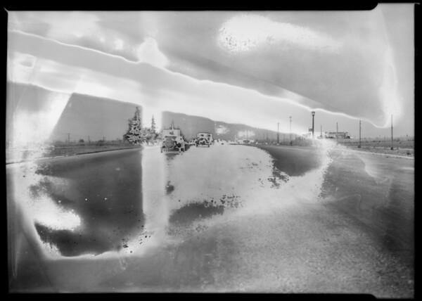 Wilshire Boulevard near Westwood, Los Angeles, CA, 1928
