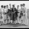 Groups taken on men's roof, Los Angeles, CA, 1931