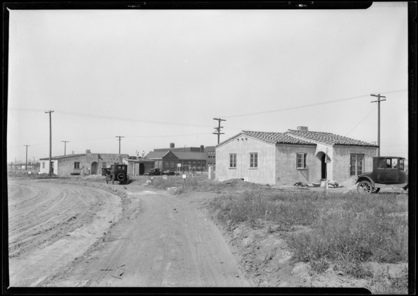 Leimert Park homes, Los Angeles, CA, 1927