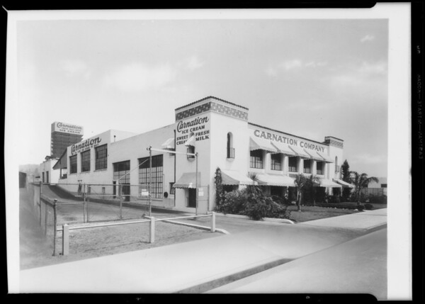 Carnation Company building, Southern California, 1933
