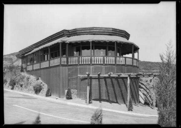 Sundown Supper Club, Southern California, 1928